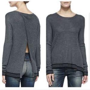 Nikki Split Back Pullover
